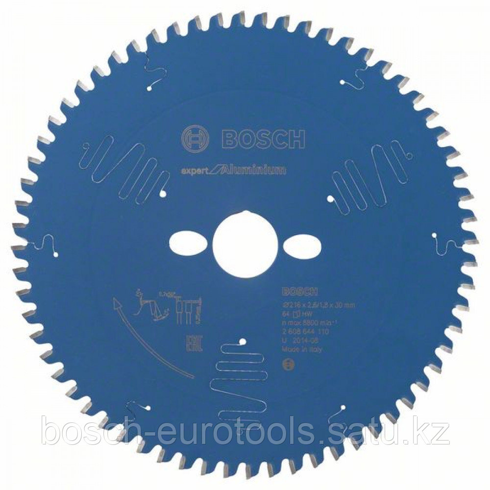 Пильный диск Expert for Aluminium 216 x 30 x 2,6 mm, 64 в Казахстане
