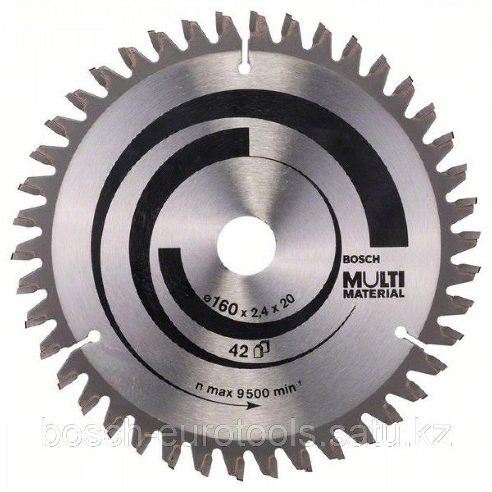 Пильный диск Multi Material 160 x 20/16 x 2,4 mm, 42 в Казахстане