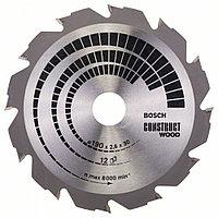 Пильный диск Construct Wood 190 x 30 x 2,6 mm, 12 в Казахстане