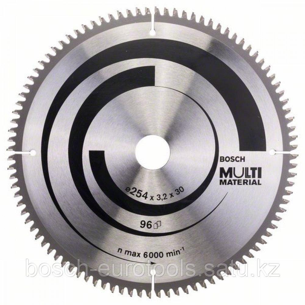 Пильный диск Multi Material 254 x 30 x 3,2 mm, 96 в Казахстане