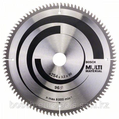 Пильный диск Multi Material 254 x 30 x 3,2 mm, 96 в Казахстане, фото 2