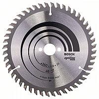 Пильный диск Optiline Wood 160 x 20/16 x 2,6 mm, 48 в Казахстане