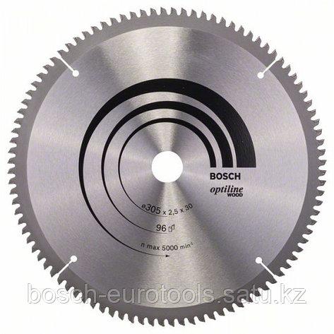 Пильный диск Optiline Wood 305 x 30 x 2,5 mm, 96 в Казахстане, фото 2