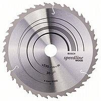Пильный диск Speedline Wood  235 x 30/25 x 2,6 mm, 30 в Казахстане