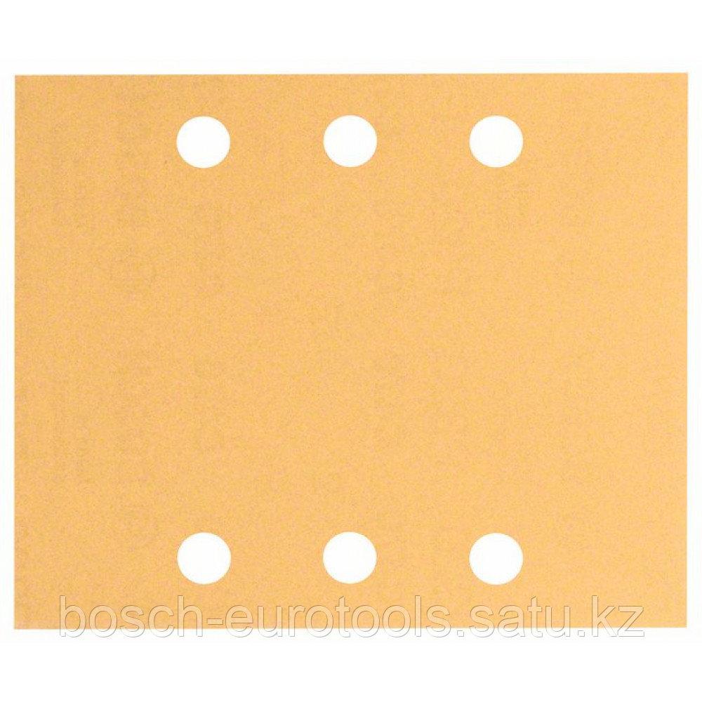 Шлифлист C470, в упаковке 10 шт. 115 x 140 mm, 2x40; 2x60; 2x80; 2x120; 2x180 в Казахстане