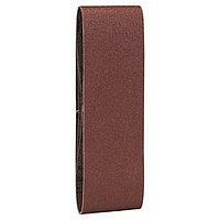 Набор из 3 шлифлент для ленточных шлифмашин Bosch, «красное» качество 80, без отверстий, на зажимах в Казахстане