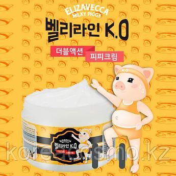Подтягивающий крем для тела Elizavecca Milky Piggy Belly Line K.O Double Action P.P Cream,100мл