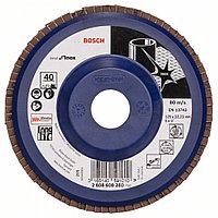 Лепестковый шлифкруг X581, Best for Inox 125 мм, 22,23, 40 в Казахстане