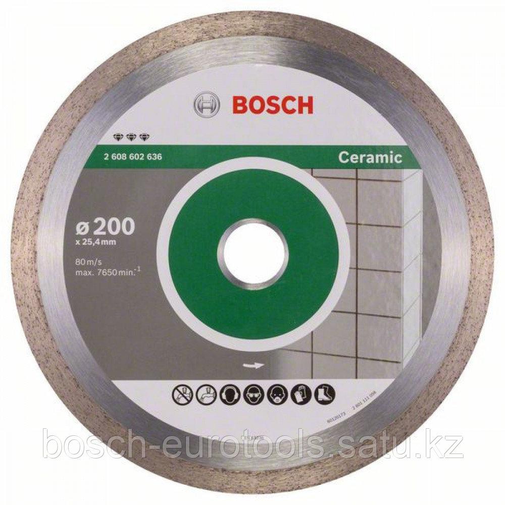Алмазный отрезной круг Best for Ceramic 200 x 25,40 x 2,2 x 10 mm в Казахстане