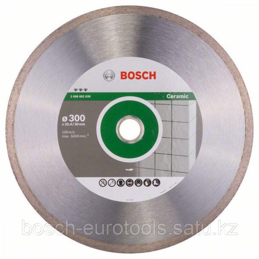 Алмазный отрезной круг Best for Ceramic 300 x 30/25,40 x 2,8 x 10 mm в Казахстане
