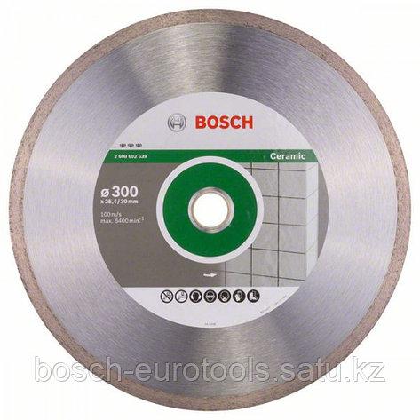 Алмазный отрезной круг Best for Ceramic 300 x 30/25,40 x 2,8 x 10 mm в Казахстане, фото 2