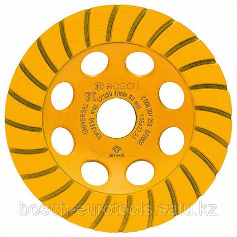 Алмазный чашечный шлифкруг Standard for Universal Turbo 125 x 22,23 x 5 мм в Казахстане, фото 2