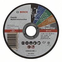 Отрезной круг, прямой, Rapido Multi Construction ACS 60 V BF, 125 mm, 1,0 mm в Казахстане