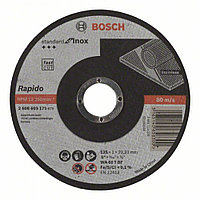 Отрезной круг, прямой, Standard for Inox - Rapido WA 60 T BF, 125 mm, 22,23 mm, 1,0 mm в Казахстане
