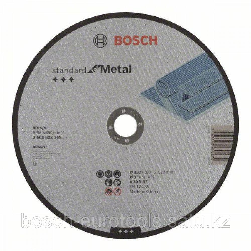 Отрезной диск прямой Standard for Metal A 30 S BF, 230 mm, 22,23 mm, 3,0 mm в Казахстане
