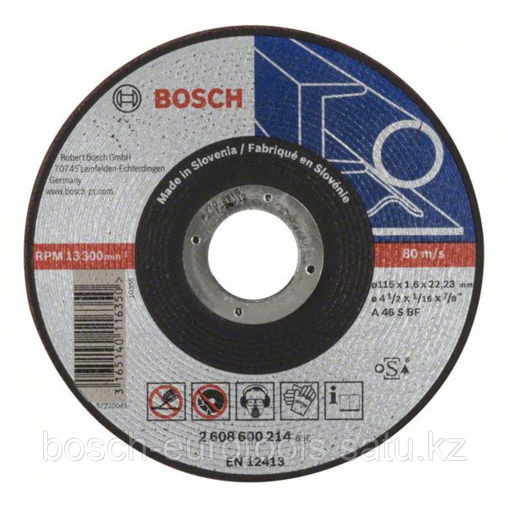 Отрезной круг, прямой, Expert for Metal AS 46 S BF, 115 mm, 1,6 mm в Казахстане