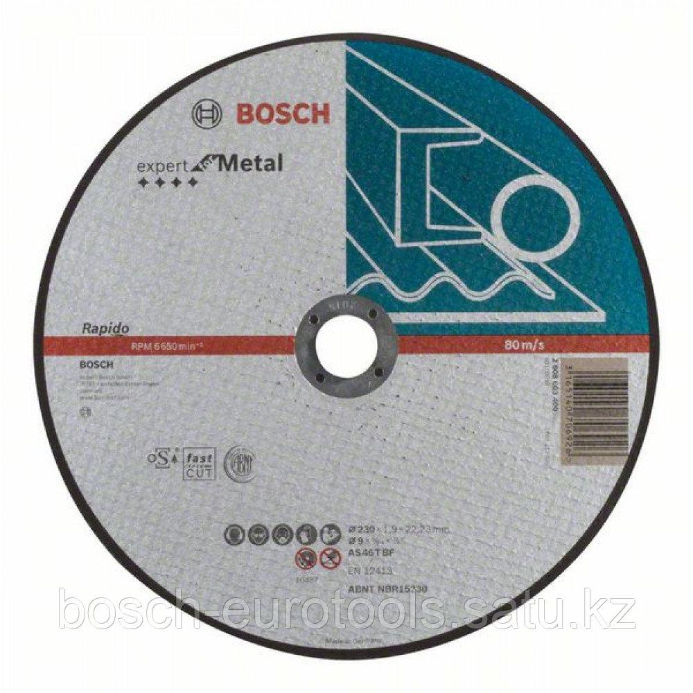Отрезной круг, прямой, Expert for Metal, Rapido AS 46 T BF, 230 mm, 1,9 mm в Казахстане