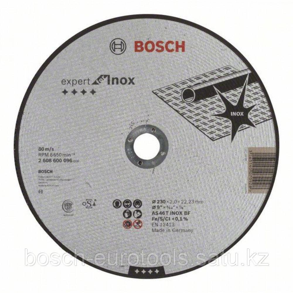 Отрезной круг, прямой, Expert for Inox AS 46 T INOX BF, 230 mm, 2,0 mm в Казахстане
