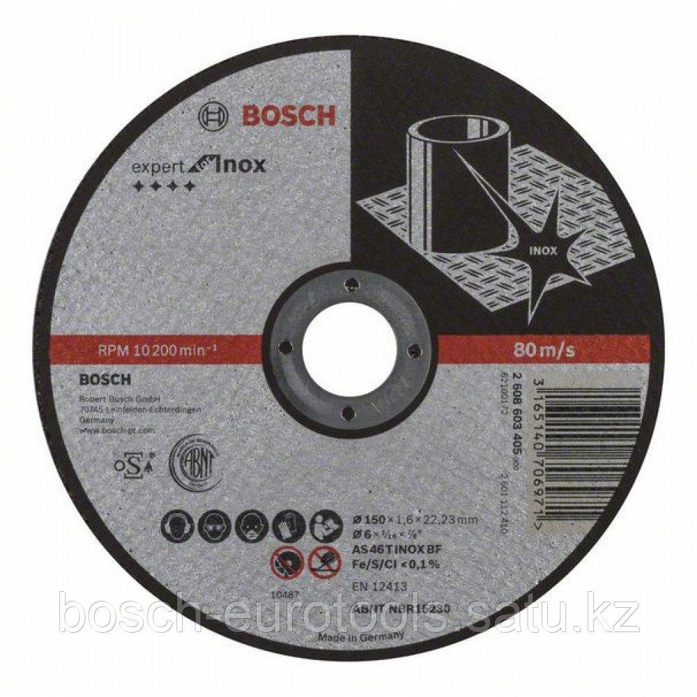Отрезной круг, прямой, Expert for Inox AS 46 T INOX BF, 150 mm, 1,6 mm в Казахстане