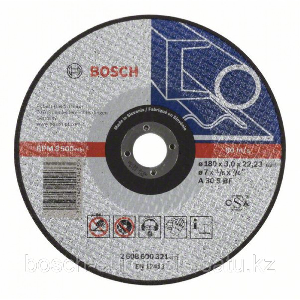 Отрезной круг, прямой, Expert for Metal A 30 S BF, 180 mm, 3,0 mm в Казахстане