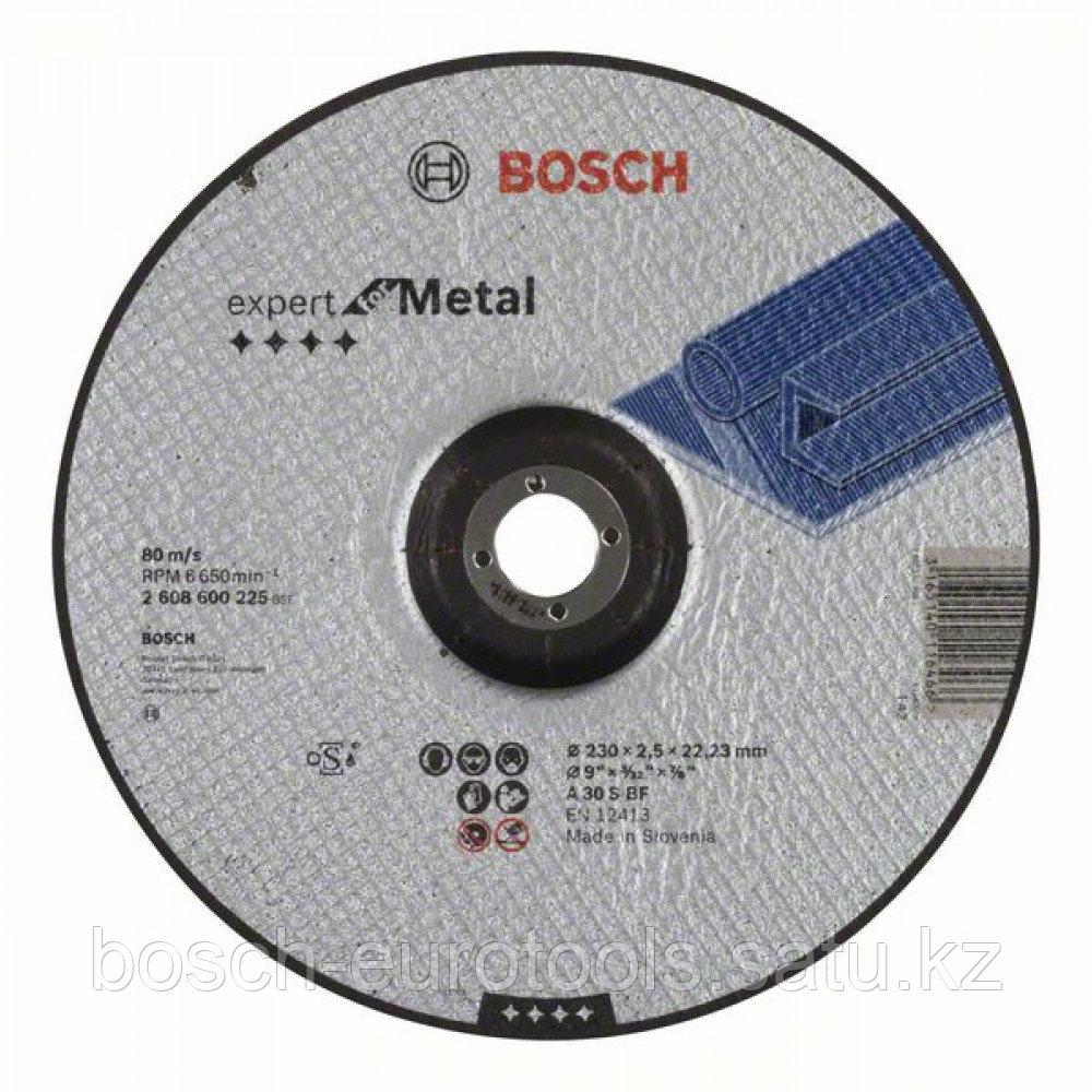Отрезной круг, выпуклый, Expert for Metal A 30 S BF, 230 mm, 2,5 mm в Казахстане