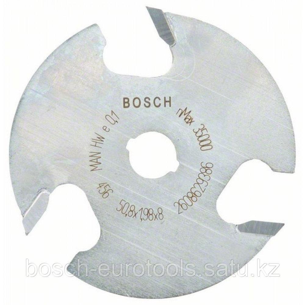 Плоская пазовая фреза 8 mm, D1 50,8 mm, L 2 mm, G 8 mm в Казахстане