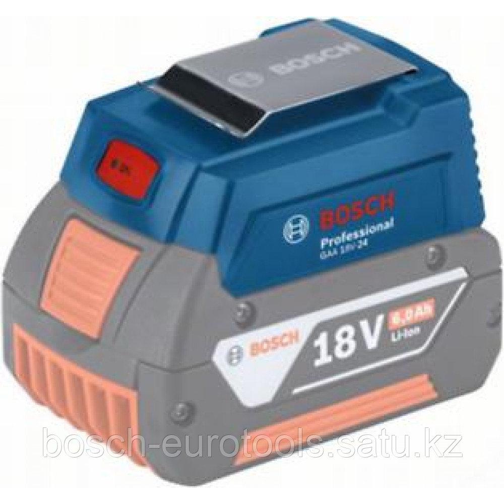 Адаптер для зарядки USB-устройств Bosch GAA 18V-24 в Казахстане