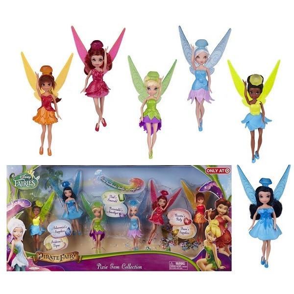 Набор из 6 кукол Дисней (Disney)Фея 11 см