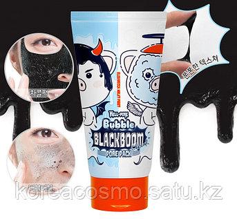 Кислородная маска Elizavecca Hell-Pore Bubble Black Boom Pore Pack,150мл
