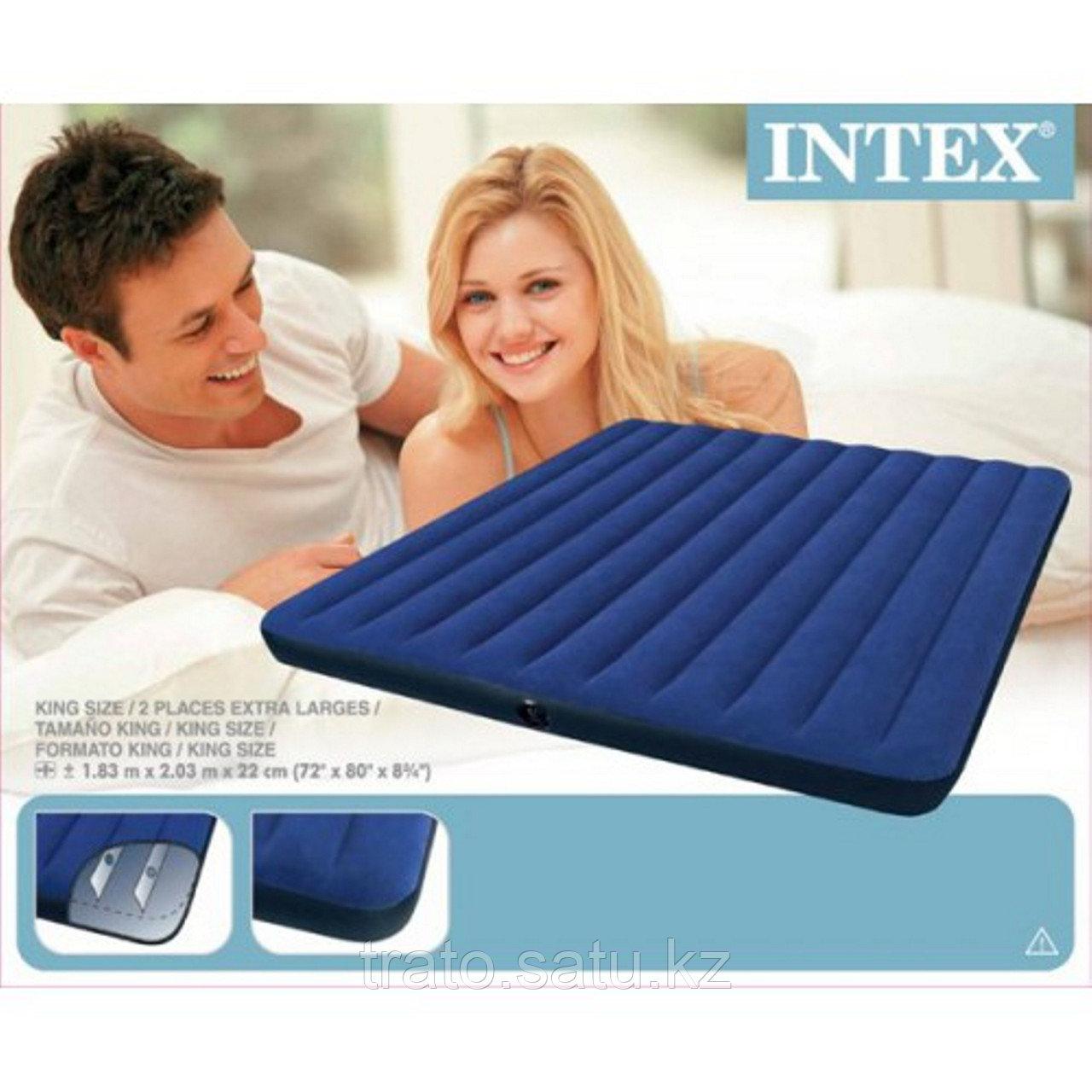 Intex 203x183x25