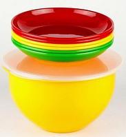 SOLARIS S1605 набор посуды: 6 тарелок 180мм в контейнере