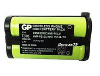 Аккумулятор GP T 370  2,4v  1600mAh  аналог Panasonic HHR-P513