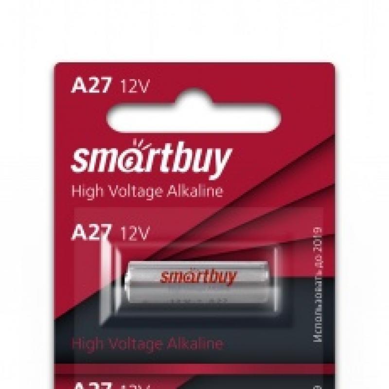 Батарейка A27 или 27A SmartBuy 12V Alkaline