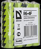 Батарейка солевая AA   Defender , фото 3