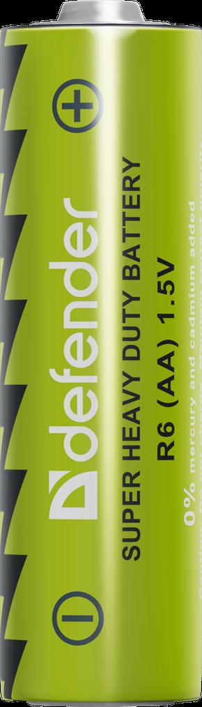 Батарейка солевая AA   Defender