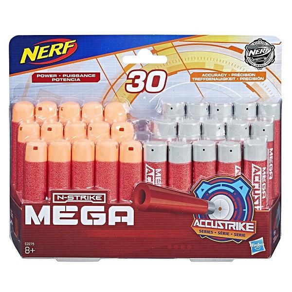 Игрушка стрелы Hasbro Nerf НЁРФ МЕГА 30 штук