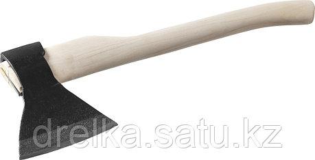 Топор кованый ИЖ с округлым лезвием и деревянной рукояткой, 1,3кг, фото 2