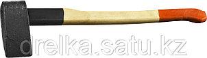 Колун с деревянной рукояткой, 4,0 кг  , фото 2