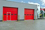 Промышленные секционные ворота, фото 2