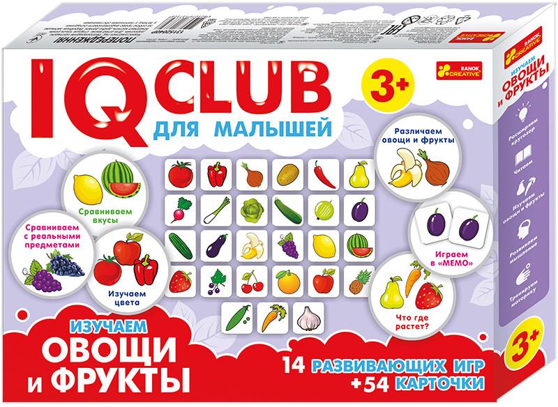 "Ranok 13152040Р ""IQ Club"" Изучаем овощи и фрукты"