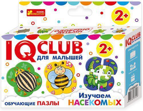 """Ranok 13152031Р """"IQ Club"""" Обучающие пазлы - Изучаем насекомых"""
