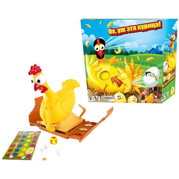 """Настольная игра """"Ох уж эта курица!"""""""
