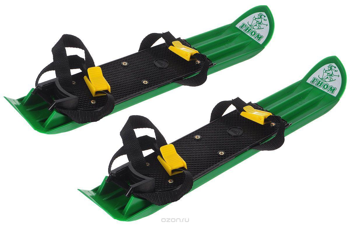 """Набор Мини-лыжи """"Гном"""", зеленые"""