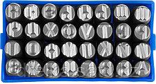 Клейма ЗУБР буквенные кириллица, шрифт 8мм, фото 3