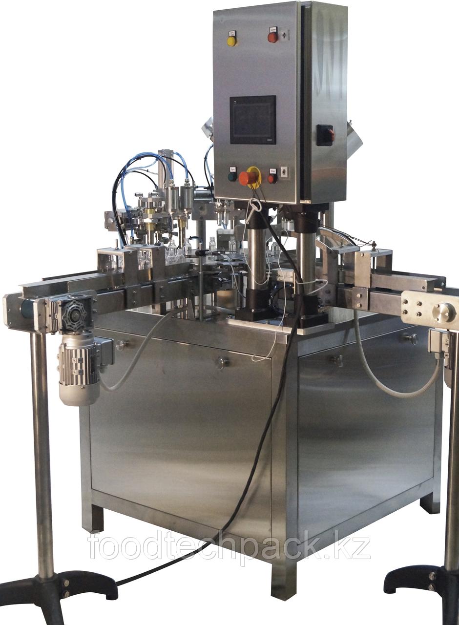 Автомат  для розлива в пластиковые бутылки модель TPL
