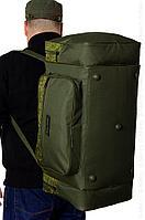 Сумка-рюкзак SOLARIS S5202 52 л, Пиксель/олива