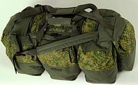 Сумка-рюкзак Экспедиционная SOLARIS S5205 120 л, Пиксель/олива
