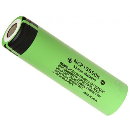 Аккумулятор литиевый NCR18650B Panasonic 3400mAh без защиты