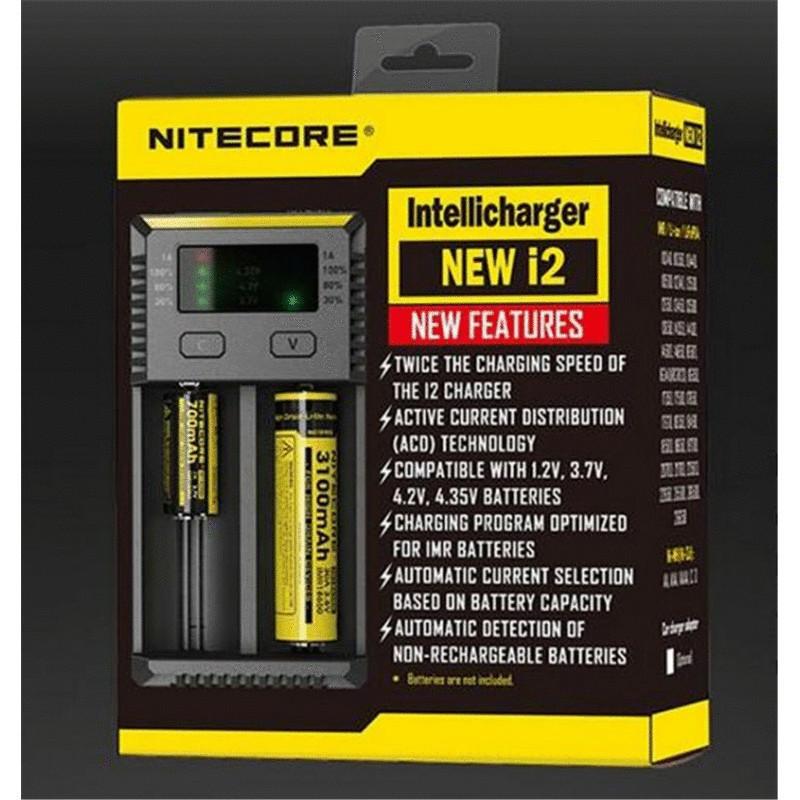 Универсальное зарядное устройство Nitecore i2 New intelligent charger Оригинал