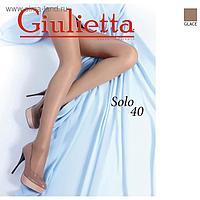 Колготки женские Giulietta SOLO 40 ден цвет бронзовый загар (glace), размер 3